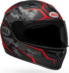 Bell Qualifier Stealth Camo Matte Black/Red