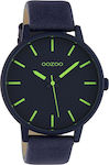 Oozoo Timepieces Evening Blue