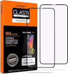 Spigen GLAS.tR Full Face Tempered Glass 2-Pack Black (iPhone 11 Pro)