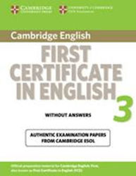 F.C.3 PRACTICE TESTS Wo/ANSWERS 2009 ED.