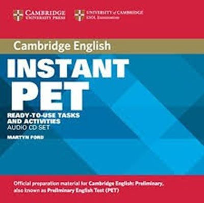INSTANT PET AUDIO CD (2)