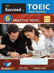 NEW SUCCEED IN TOEIC 6 PRACTICE TESTS SELF-STUDY EDITION 2018