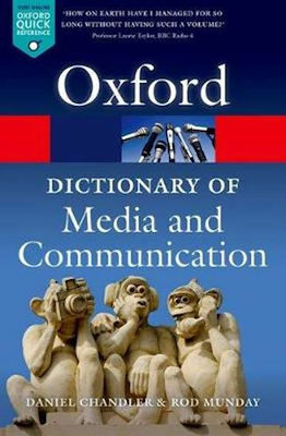 A DICTIONARY OF MEDIA AND COMMUNICATION PB