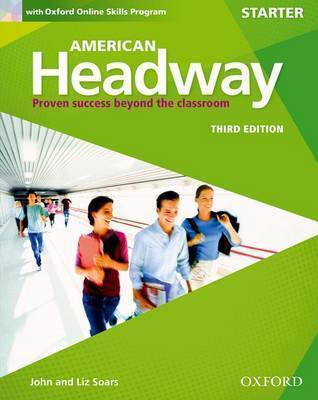 AMERICAN HEADWAY STARTER STUDENT'S BOOK (+ ONLINE SKILLS PRACTICE) 3RD ED