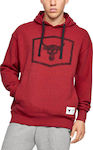 Under Armour Project Rock Warm-Up 1346067-662 Red