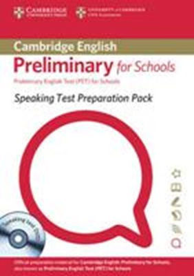 SPEAKING TEST PREPARATION PET FOR SCHOOLS SB (+ DVD)