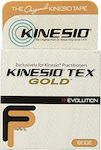 Kinesio Tex Gold FingerPrint Wave 5cm x 5m Beige