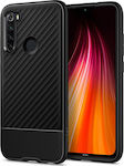 Spigen Core Armor Back Cover Σιλικόνης Matte Black (Xiaomi Redmi Note 8)
