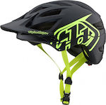 Troy Lee Designs A1 Black/Flo Yellow