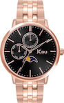 Jcou Callisto Black/Rose Gold
