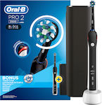 Oral-B Pro 2 2500 Black Edition Bonus Black Travel Case