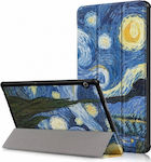Magnetic 3-fold Flip Cover Starry Night (MediaPad T5 10)