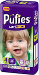 Pufies Baby Art + Dry Maxi No 4 (7-14kg) 56τμχ