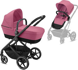 Cybex Balios S 2 in 1 Frame Black Seat Magnolia Pink