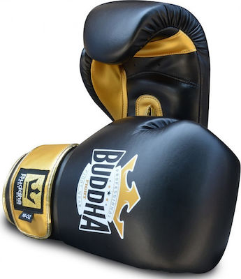 Buddha Top Fight Black/Gold