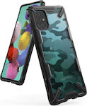 Ringke Fusion X Back Cover Πλαστικό Camo Black ...