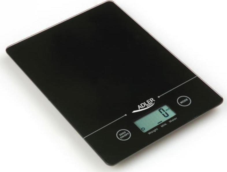 Adler AD-3138 Ψηφιακή Ζυγαριά Κουζίνας 5kg Black (AD 3138 czarna) - Πληρωμή και σε έως 36 Δόσεις!!!