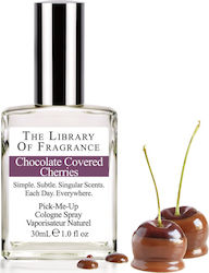The Library Of Fragrance Chocolate Covered Cherries Pick Me Up Cologne Spray 30ml