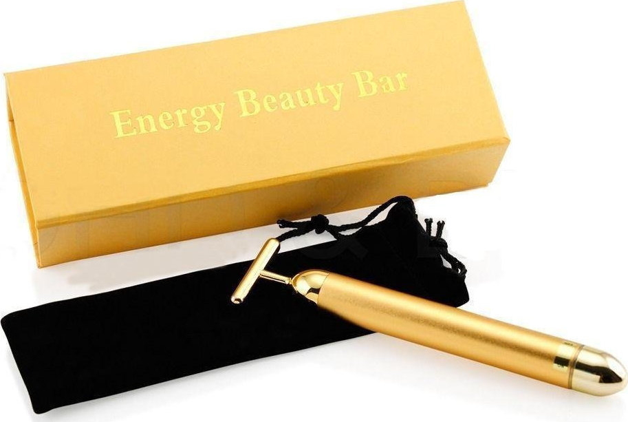 24K Gold Energy Beauty Bar Face Roller - Skroutz.gr