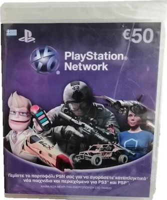 Sony Ps3/PSP Live Card 50€
