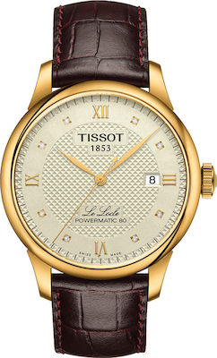 Tissot Le Locle Gold/Brown
