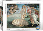 Birth of Venus by BotticelliSandro 1000pcs (6000-5001) Eurographics