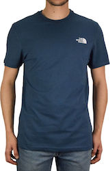 The North Face Simple Dome Tee NF0A2TX5N4L1 Blue Wing