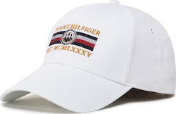 Καπέλο TOMMY HILFIGER - Seasonal Icon Cap Est. AM0AM06114 YBR