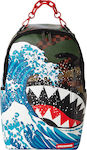Sprayground Camokawa Wave Shark