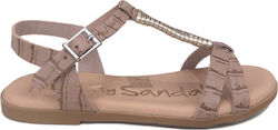 Oh my Sandals πέδιλο 4622 nude