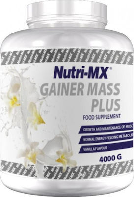 Nutri-ΜΧ Gainer Mass Plus 4000gr Vanilla