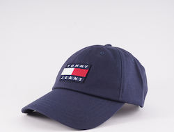 Tommy Jeans Heritage Men'S Hat AM0AM05953-CBK BLACK IRIS