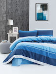 Beauty Home Σετ Σεντόνια King Size 270x265 1810 Navy