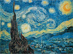 Van Gogh Starry Night 500pcs (1220-94932) Clementoni