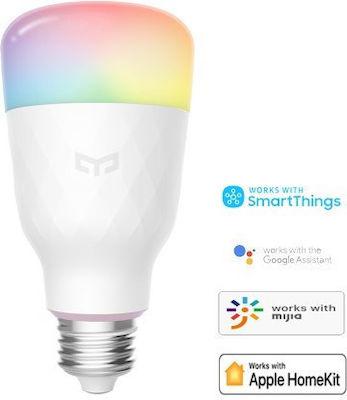 Yeelight 1S Smart Λάμπα LED για Ντουί E27 RGBW 800lm Dimmable YLDP13YL