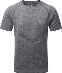 Ronhill Infinity Marathon Short Sleeve Mens Running Top - Grey