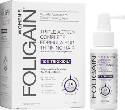 Foligain Women's Triple Action Formula for Thinning Hair 59ml