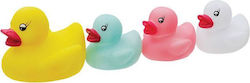 Heitech Duck Family With LED Lights 4pcs
