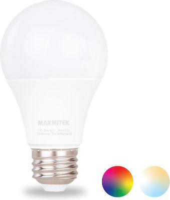 Marmitek Glow Mo E27 A60 9W RGBW Dimmable Smart