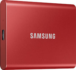 Samsung Portable SSD T7 1TB Metallic Red