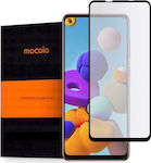 Mocolo TG+ Full Face Tempered Glass Μαύρο (Gala...