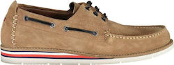 TOMMY HILFIGER Classic Shoes Men FM0FM02737RBL MARRONE- 20% GOMMA,10% TESSUTO,70% PELLE