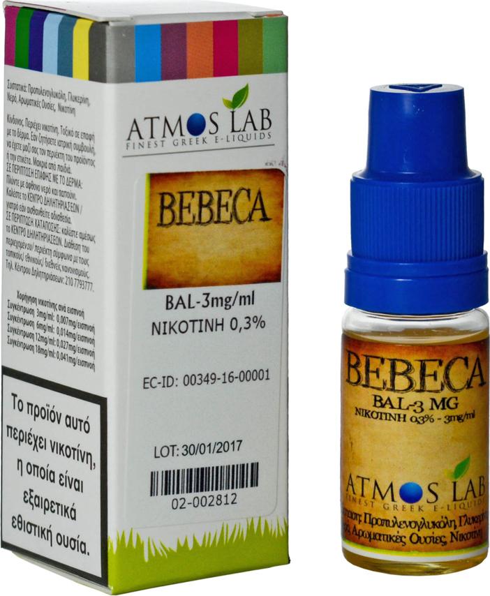 Atmoslab Bebeca Balanced 12mg - Skroutz.gr
