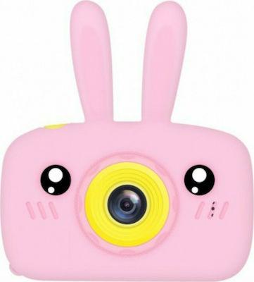 "X500 Compact Φωτογραφική Μηχανή 10MP με Οθόνη 2"" Ροζ"