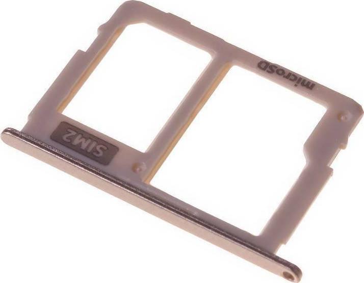 Samsung Βάση Κάρτας Sim & SD Χρυσό για Galaxy J7 2017 - Skroutz.gr