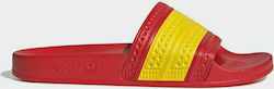 Adidas Adilette G55382 : Red / Yellow