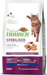 Natural Trainer Adult Sterilized With Salmon 10kg