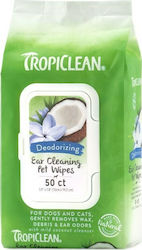 Tropiclean Ear Cleaning Wipes 50τμχ