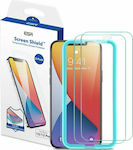 ESR Shield Tempered Glass 2-Pack (iPhone 12 / 1...