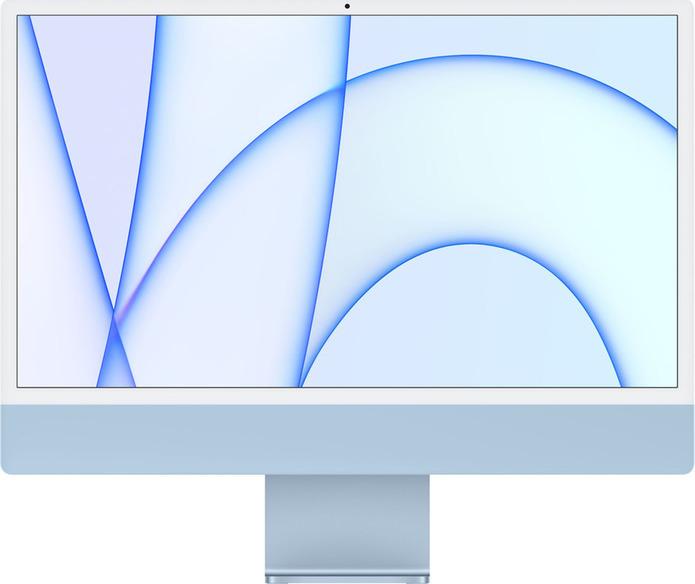 "Apple iMac 24"" 2021 (M1/8GB/256GB/7-Core GPU/macOS) Blue ..."